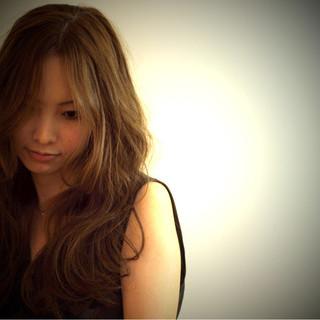 モード 大人女子 外国人風 ナチュラル ヘアスタイルや髪型の写真・画像