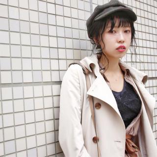 簡単ヘアアレンジ ヘアアレンジ ロング 外国人風 ヘアスタイルや髪型の写真・画像