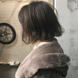 リラックス ゆるふわ ウェットヘア モード ヘアスタイルや髪型の写真・画像