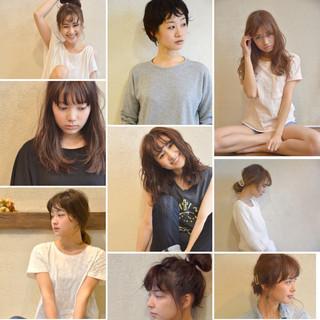 大人かわいい アッシュ ヘアアレンジ 簡単ヘアアレンジ ヘアスタイルや髪型の写真・画像 ヘアスタイルや髪型の写真・画像