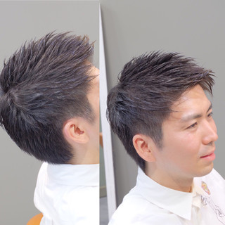 オフィス ボーイッシュ デート ショート ヘアスタイルや髪型の写真・画像