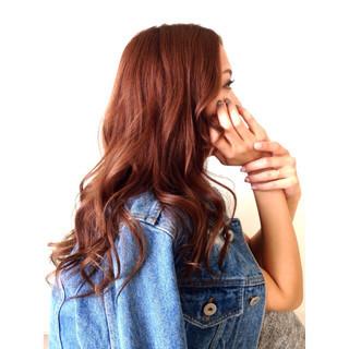 センターパート ゆるふわ セミロング モテ髪 ヘアスタイルや髪型の写真・画像