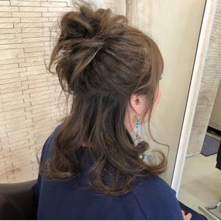 簡単ヘアアレンジ ヘアアレンジ かわいい 大人かわいい ヘアスタイルや髪型の写真・画像 ヘアスタイルや髪型の写真・画像
