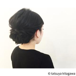セミロング ゆるふわ エレガント 二次会 ヘアスタイルや髪型の写真・画像 ヘアスタイルや髪型の写真・画像