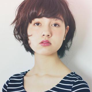 外国人風 簡単ヘアアレンジ ストリート パーマ ヘアスタイルや髪型の写真・画像