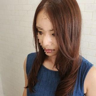 縮毛矯正名古屋市 縮毛矯正ストカール 縮毛矯正 フェミニン ヘアスタイルや髪型の写真・画像