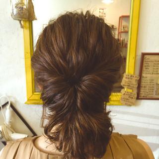 ヘアアレンジ 波ウェーブ ボブ フェミニン ヘアスタイルや髪型の写真・画像 ヘアスタイルや髪型の写真・画像