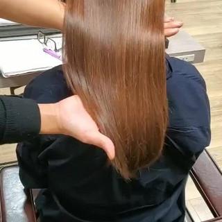 ロング 頭皮ケア ナチュラル 美髪 ヘアスタイルや髪型の写真・画像