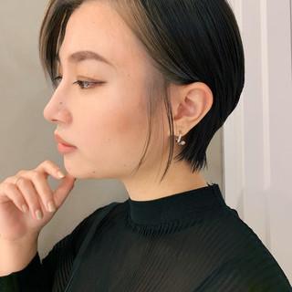 ハンサムショート 阿藤俊也 似合わせカット ショートヘア ヘアスタイルや髪型の写真・画像