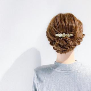 セミロング デート アウトドア フェミニン ヘアスタイルや髪型の写真・画像