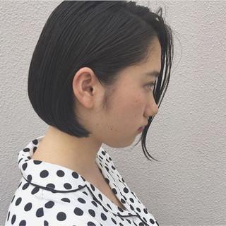オフィス ナチュラル ハイライト 黒髪 ヘアスタイルや髪型の写真・画像 ヘアスタイルや髪型の写真・画像