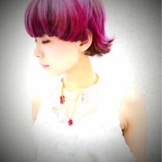 マッシュ 坊主 木村カエラ ストリート ヘアスタイルや髪型の写真・画像