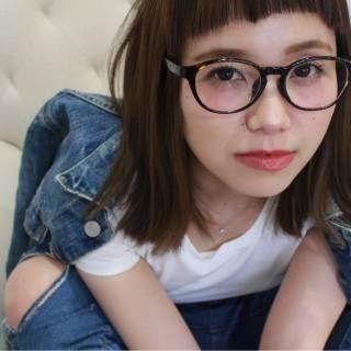 ミディアム ストレート ウェットヘア パンク ヘアスタイルや髪型の写真・画像