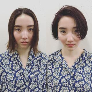 ゆるふわ 大人かわいい ショート 外国人風 ヘアスタイルや髪型の写真・画像