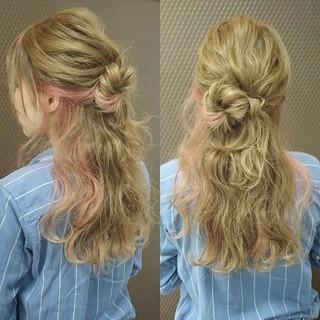 ショート 波ウェーブ ロング ゆるふわ ヘアスタイルや髪型の写真・画像 ヘアスタイルや髪型の写真・画像