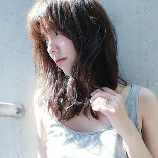 外国人風 ブラウン 大人かわいい ナチュラル ヘアスタイルや髪型の写真・画像
