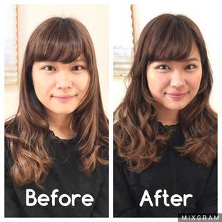 中井ナノさんのヘアスナップ