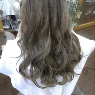 アッシュ グラデーションカラー ストリート 外国人風 ヘアスタイルや髪型の写真・画像