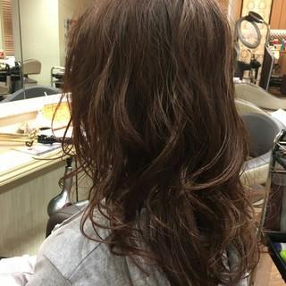 フェミニン 大人かわいい ナチュラル 外国人風 ヘアスタイルや髪型の写真・画像