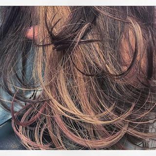 外国人風 ナチュラル ハイライト アッシュ ヘアスタイルや髪型の写真・画像