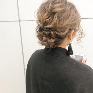 デート ナチュラル ロング ヘアアレンジ ヘアスタイルや髪型の写真・画像 ヘアスタイルや髪型の写真・画像