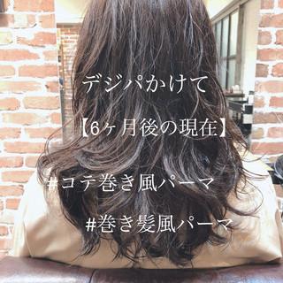 パーマ ゆるふわパーマ デジタルパーマ 外国人風 ヘアスタイルや髪型の写真・画像 ヘアスタイルや髪型の写真・画像