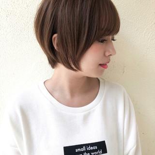 ヘアアレンジ 似合わせ 女子力 ショート ヘアスタイルや髪型の写真・画像
