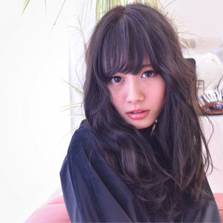 小顔 こなれ感 ガーリー ゆるふわ ヘアスタイルや髪型の写真・画像