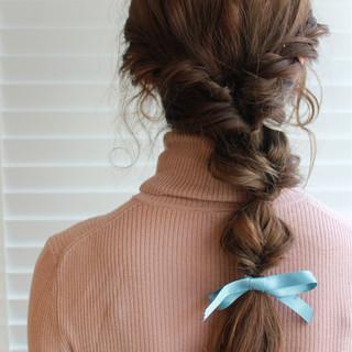 ゆるふわ 外国人風 ナチュラル ヘアアレンジ ヘアスタイルや髪型の写真・画像