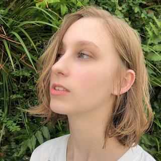 大人かわいい 大人女子 ショートヘア ナチュラル ヘアスタイルや髪型の写真・画像
