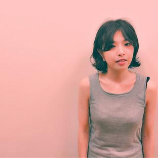 ボブ ピュア フェミニン 色気 ヘアスタイルや髪型の写真・画像