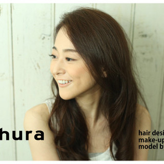 外国人風 黒髪 ゆるふわ 大人かわいい ヘアスタイルや髪型の写真・画像