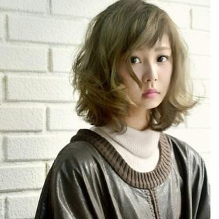 ストリート ブラウン 外国人風 パーマ ヘアスタイルや髪型の写真・画像