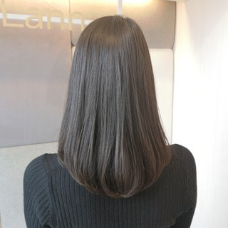 抜け感 エレガント ミディアム 黒髪 ヘアスタイルや髪型の写真・画像