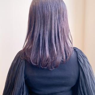 ピンクブラウン ピンクラベンダー バイオレットアッシュ ラベンダーピンク ヘアスタイルや髪型の写真・画像