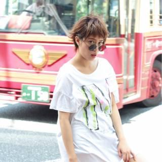 ショート パンク ストリート 春 ヘアスタイルや髪型の写真・画像