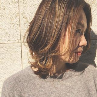 レイヤー ウルフ ハイライト ヘアアレンジ ヘアスタイルや髪型の写真・画像