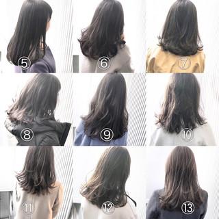 アッシュグレージュ グレージュ スモーキーカラー ミルクティーグレージュ ヘアスタイルや髪型の写真・画像
