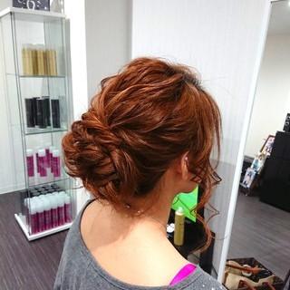 エレガント 女子会 上品 結婚式 ヘアスタイルや髪型の写真・画像