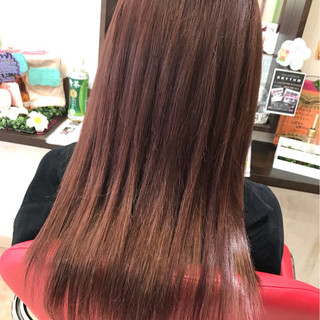 ロング ガーリー デート エクステ ヘアスタイルや髪型の写真・画像