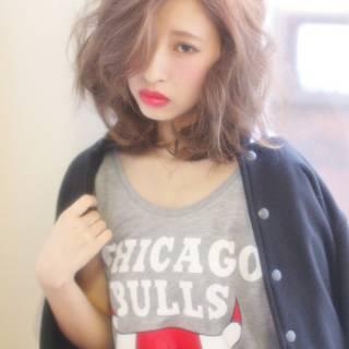 アッシュ 春 ストレート ボブ ヘアスタイルや髪型の写真・画像