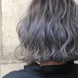 グラデーションカラー バレイヤージュ ストリート 外国人風カラー ヘアスタイルや髪型の写真・画像 ヘアスタイルや髪型の写真・画像