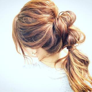 ショート ヘアアレンジ 簡単ヘアアレンジ フェミニン ヘアスタイルや髪型の写真・画像