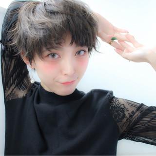 こなれ感 ナチュラル 小顔 ベリーショート ヘアスタイルや髪型の写真・画像 ヘアスタイルや髪型の写真・画像