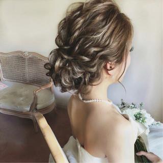 セミロング 大人女子 パーティ アンニュイ ヘアスタイルや髪型の写真・画像