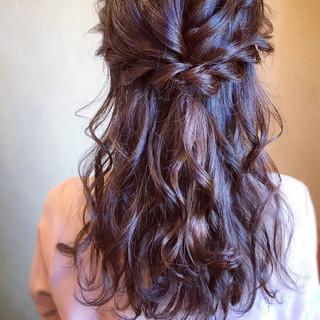 デート エレガント 簡単ヘアアレンジ 結婚式 ヘアスタイルや髪型の写真・画像 ヘアスタイルや髪型の写真・画像