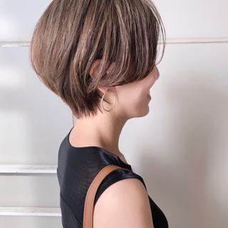 ハンサムショート ショートボブ ショートヘア ショート ヘアスタイルや髪型の写真・画像