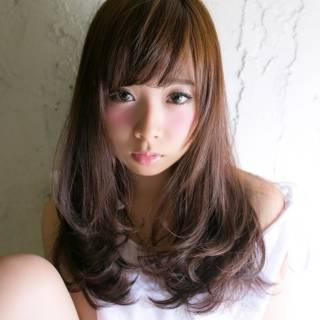 暗髪 ナチュラル 大人かわいい 大人女子 ヘアスタイルや髪型の写真・画像