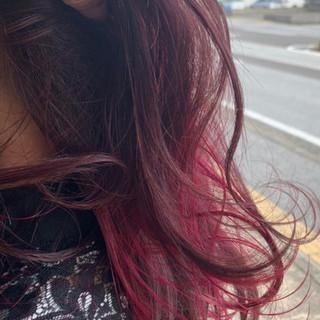 ナチュラル ブリーチ必須 グラデーションカラー セミロング ヘアスタイルや髪型の写真・画像