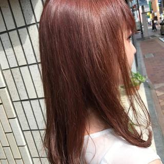 ピンクアッシュ ラベンダーピンク 秋 ナチュラル ヘアスタイルや髪型の写真・画像